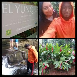 Me and my wife enjoying this adventurous day at the rain forest. , ABU SIKDAR - July 2015