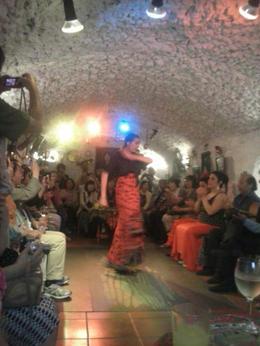 Flamenco dancer in action , Margrét Þ - July 2013