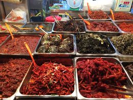 So many different foods to see in Gwang-Jang market! , Jan - April 2015