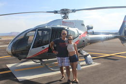 Boarding the helo , Marco P - August 2014