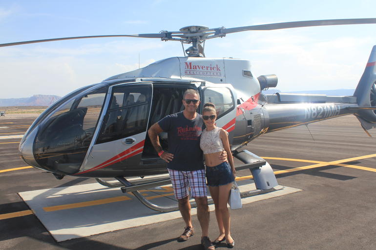 Grand Canyon Helicopter Tour with Optional Below-the-Rim Landing and Skywalk