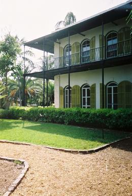 Hemingway House in Key West , Leah - May 2011