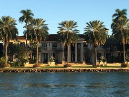 The largest house on Star Island, owned by Phillip Frost, JennyC - February 2015