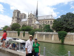 Ending the tour at Notre Dame , Claudia A - August 2013