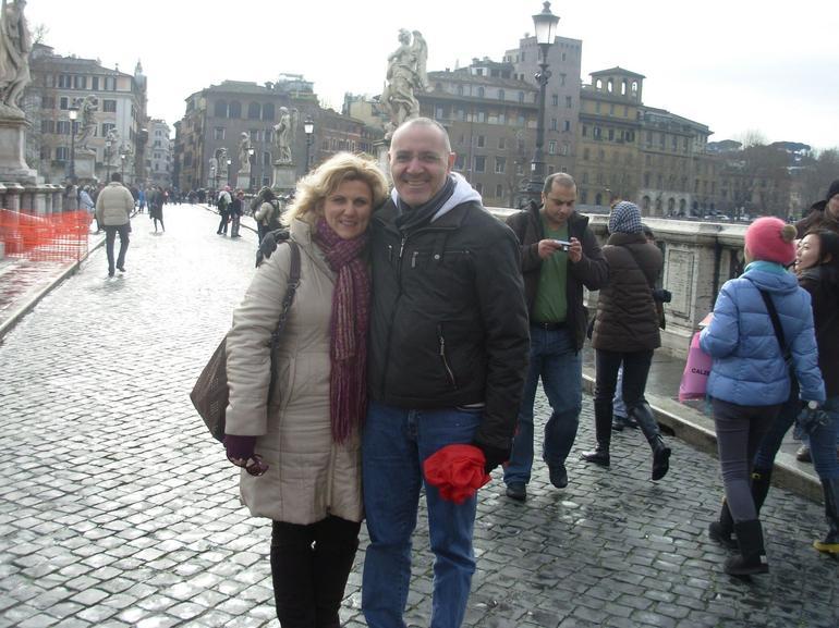 ON THE BRIDGE - Rome
