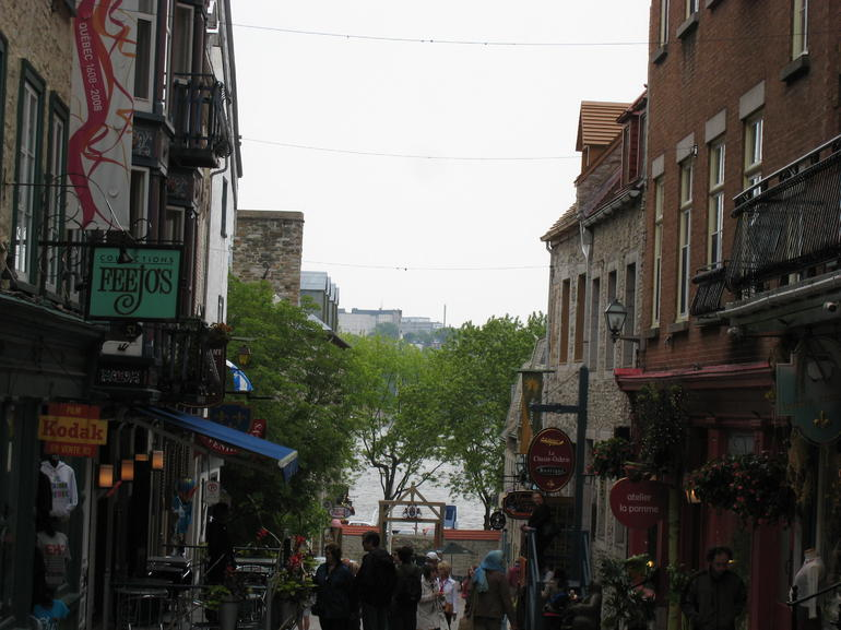 Quebec street - Montreal