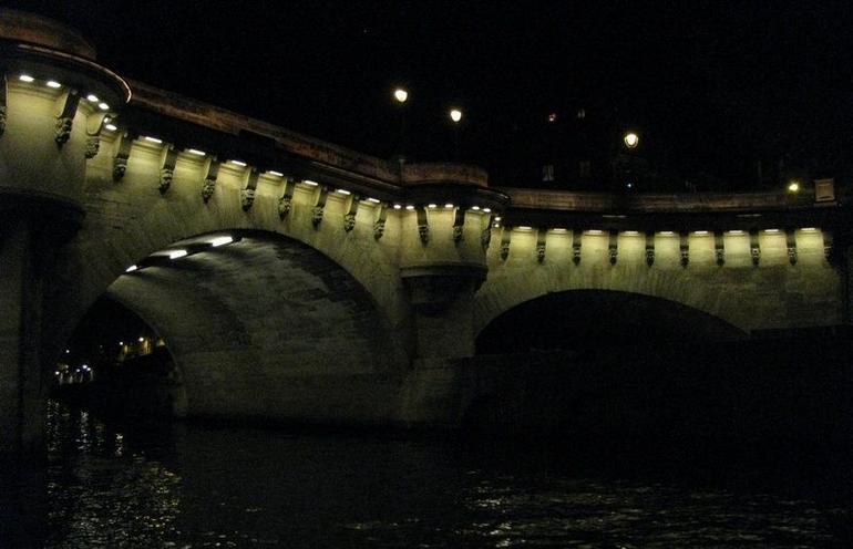 Seine River bridge - Paris