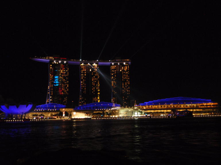 Singapore 2012 Night Riverboat Ride - Singapore