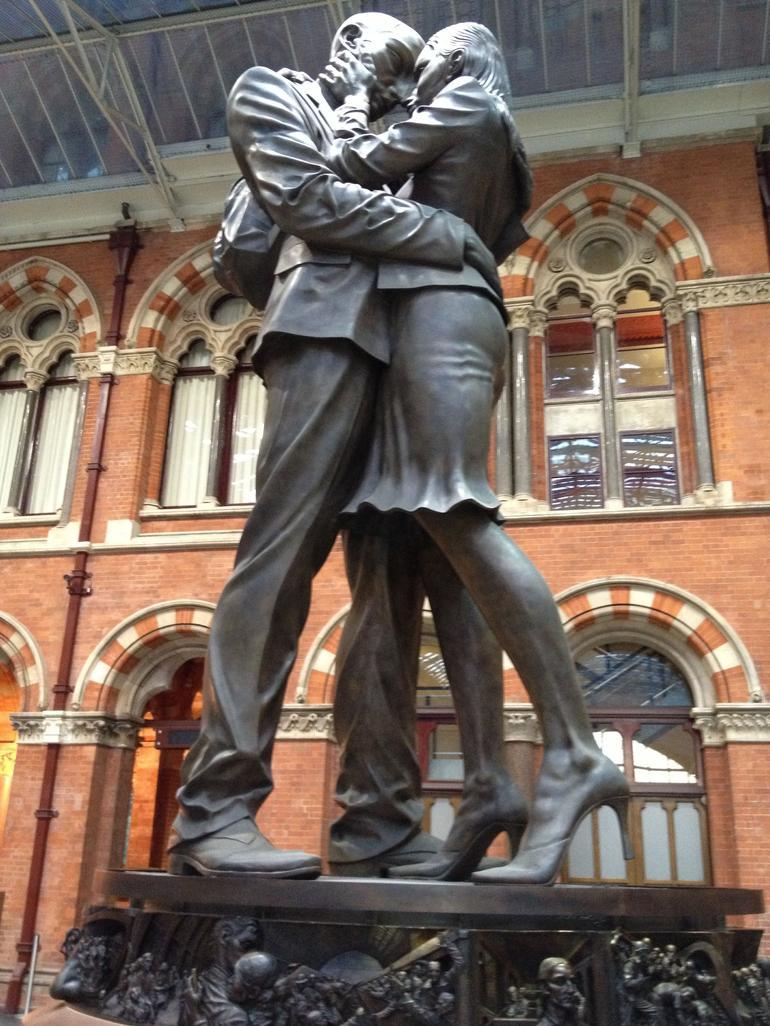 St Pancras Train Station London - London