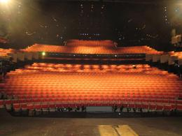 Look at the view that the actors would have each night on the stage in the Sydney Opera House., Jodie A - October 2007