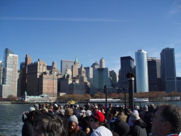 Travel to Liberty Statue - New York City