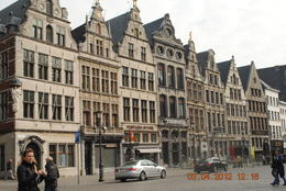 This is an example of typical old Belgian buildings being preserved until now , Catherine C - May 2012