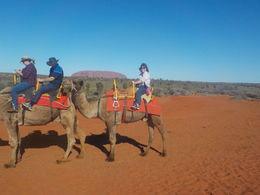 Linda Macdonald and Tyson the camel , Linda M - August 2016