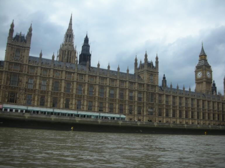 View From Duck Tour - London