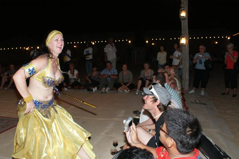 Watching the Belly Dancer - Dubai