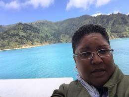 Selfie/Cook Strait , Monica M - January 2018