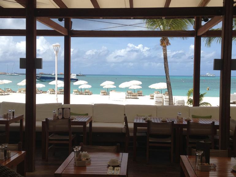 Beach at Philipsburg - St Maarten