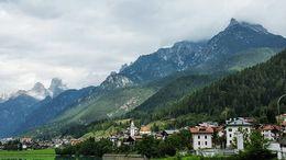 Charming town near the Dolomites , pbpost - November 2015
