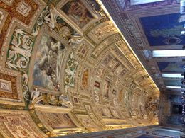 galerie au musee du vatican , MAGALI G - March 2015