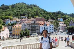 Wonderful trip to Sintra. , Chan KW & SM San - July 2011