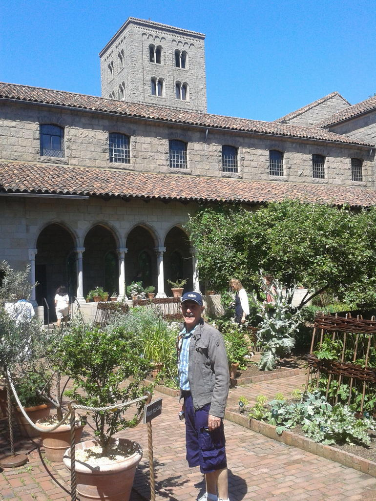 In the Cloisters garden - New York City