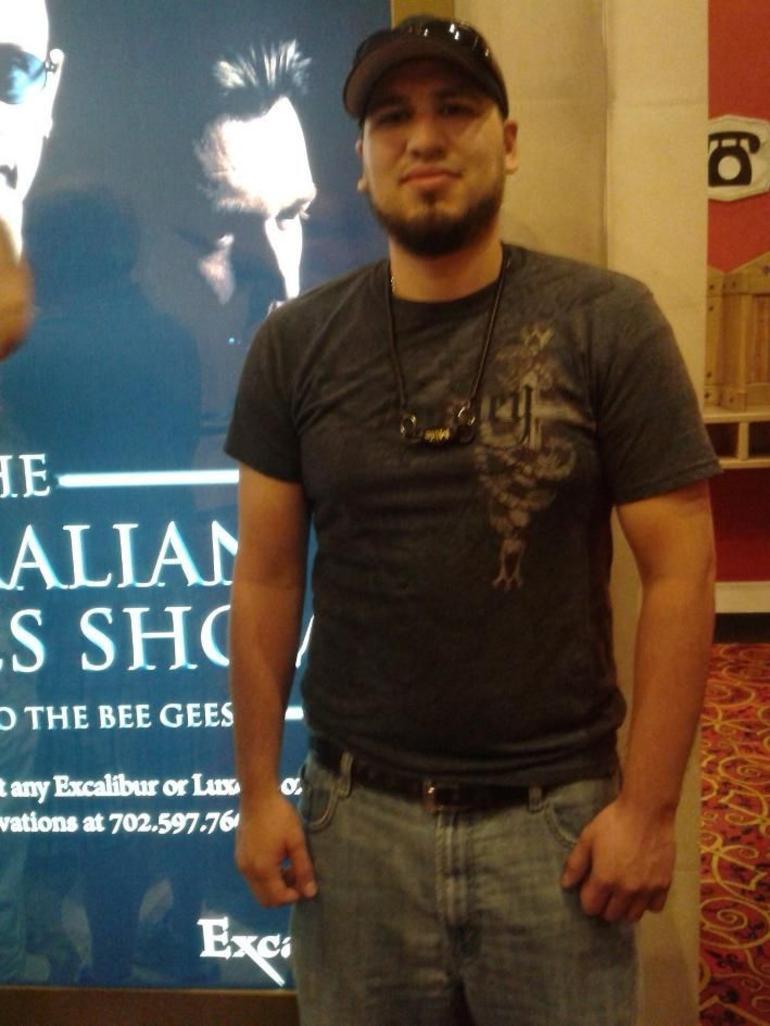 Obligatory poster picture - Las Vegas