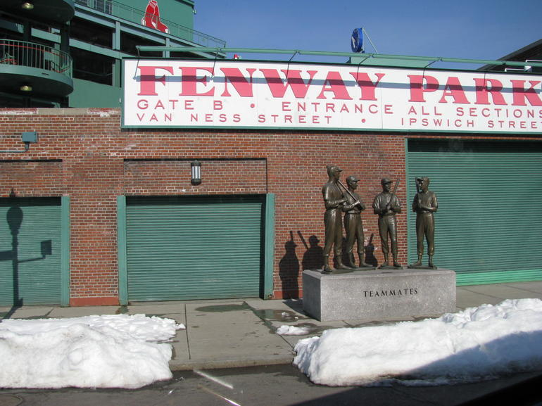 red sox home - Boston