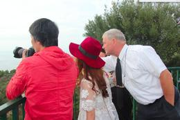 Rolf showing us the view , Lena - August 2014