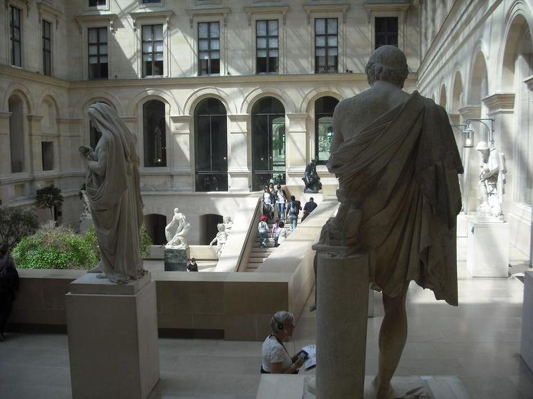 The new Louvre - Paris