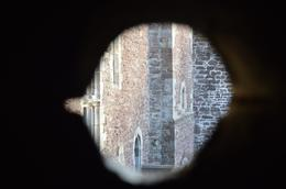 peering out from the inside of Doune Castle , brittany.spankiesd74 - December 2016