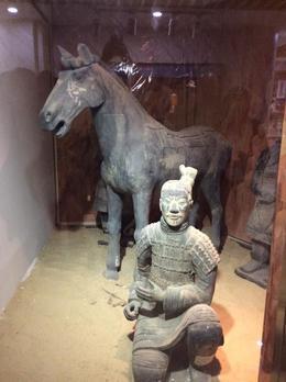terracotta warrior and horse , Christina M - February 2017