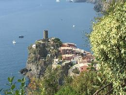 View from the Cinque Terre trail , Robert C - January 2018