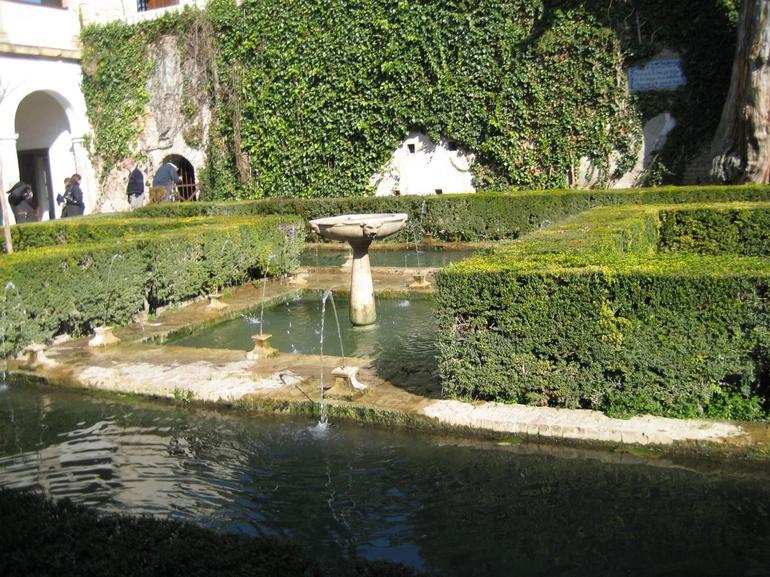 At Generalife Gardens - Granada