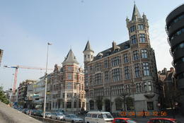 Another old buildings typical of the early Belgian architecture being preserved in Antwerp , Catherine C - May 2012