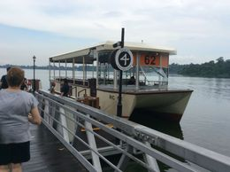 This is the ferry that took us around the lake , Kaye S - May 2016