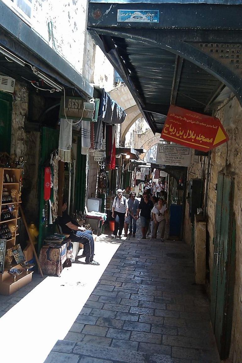 Famous Via Dolorosa - Jerusalem