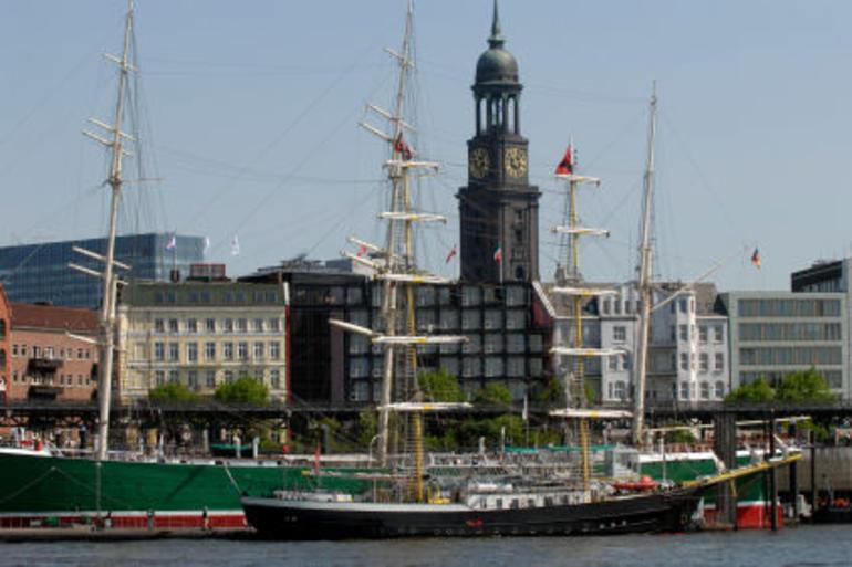 Hamburg Harbor and Lake Alster - Hamburg