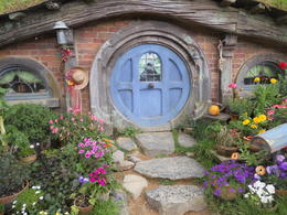 Each Hobbit home was unique with many special details. , Michael A - December 2014