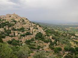 Beautiful view of Gordes - highlight of the trip , TRAN LAN ANH N - July 2012