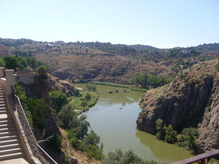 le Tage vu des hauteurs de Toledo - Madrid