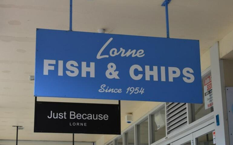 Lorne fish and chips - Melbourne