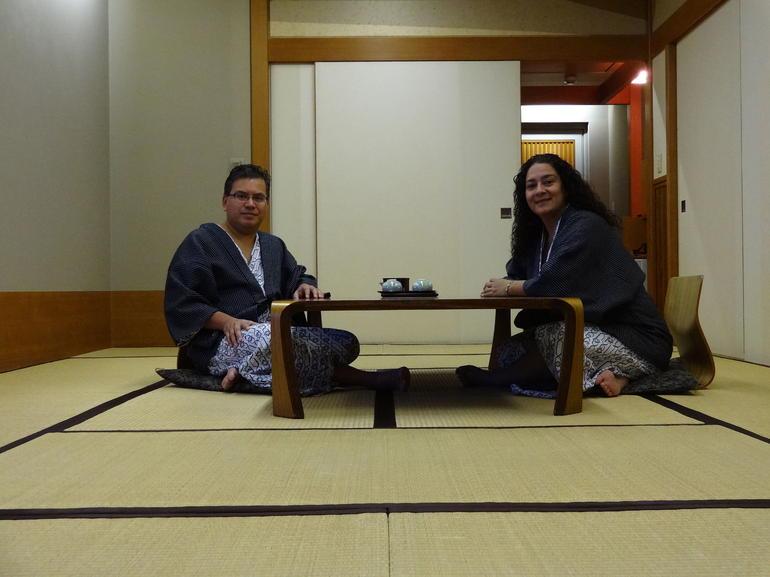 Mt Fuji and Hot Springs at Hakone Yunohanaonsen Hotel - Tokyo