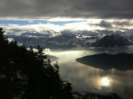Amazing views from Mt Rigi, isa - December 2012