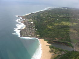 Bird's eye view of the North Shore., Bandit - February 2011