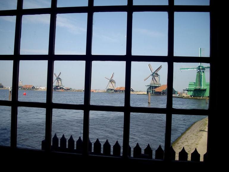 par la fenêtre du premier moulin - Amsterdam