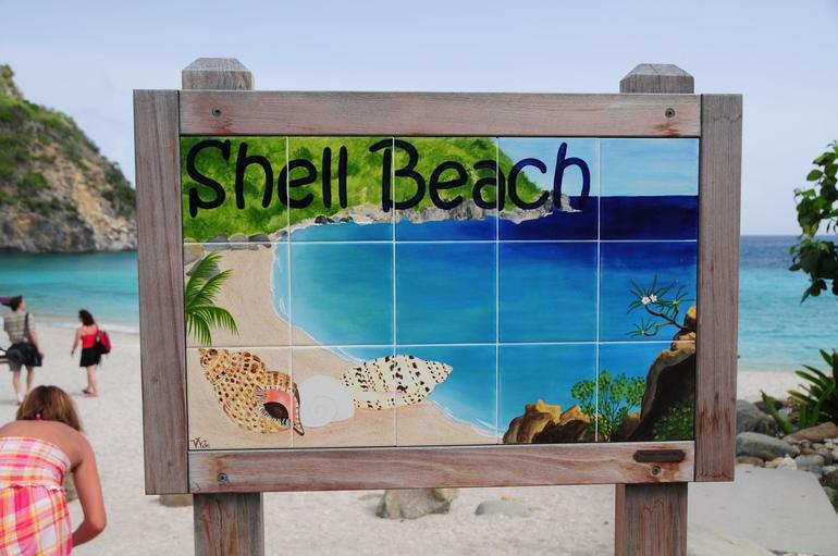 Shell Beach - Philipsburg