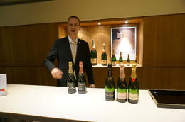 Test the product at Moet and Chandon , Nicholas M - October 2013