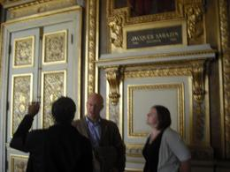 One of the most beautiful rooms in the Louvre, Frances - April 2010