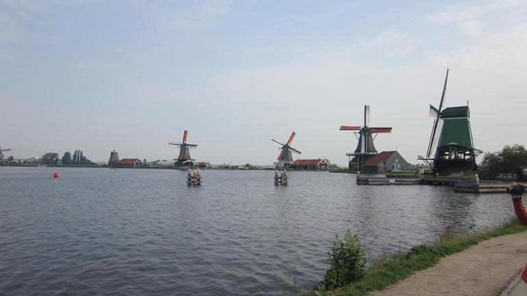 The Zaanse Schans Windmills - Amsterdam