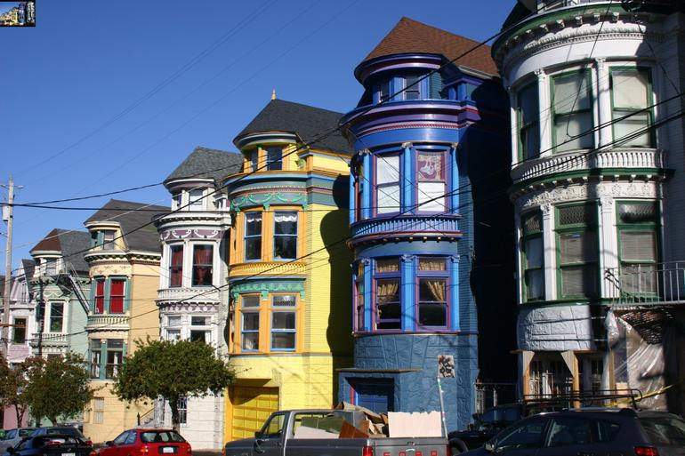 Victorians in SF - San Francisco